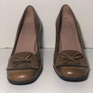 Nine West shoes brown EUC